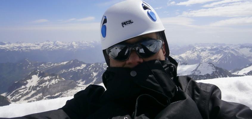 En lo más alto de los Pirineos. El Aneto. 6 de Junio de 2014.
