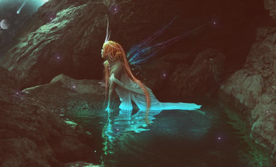 Falling Star by Chissweetart