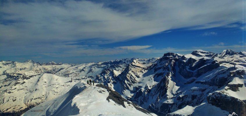 Ordesa Nevado, en busca del Sueño Perdido. 2. De Góriz al  pico Taillon,…cuando un sueño se va, otro  siempre te viene.