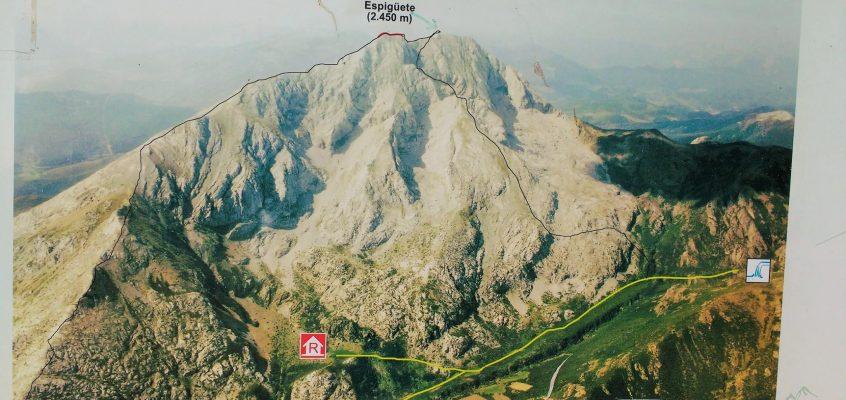 En el Coloso pétreo de la Montaña Palentina; Espigüete, cuando las aristas te atrapan y las pedreras te sueltan…