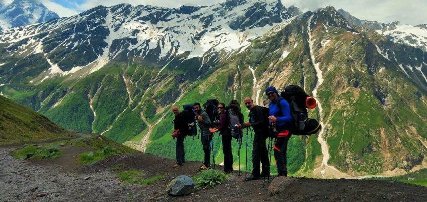 En el sueño blanco de Josechu, la ascensión al Elbrus. 3. De Terskol al glaciar Garibashi.