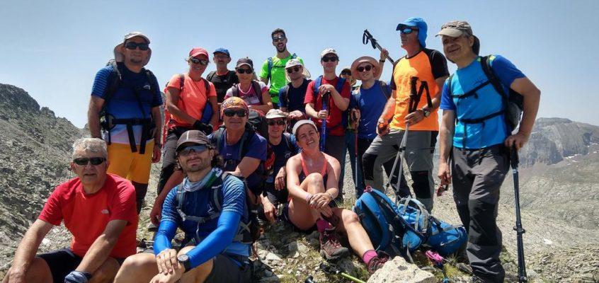 Con montañeros de Monfragüe en Batisielles. En los ibones que crecen entre las cumbres. La leyenda de Culibillas(3 y 4).