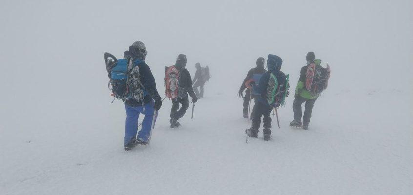 En el Viento Blanco del Bisaurín. Cuando el hielo y la niebla te llevan al error…