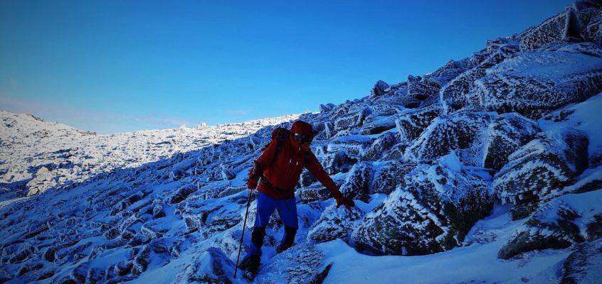 En el Cerro helado del Estecillo, cuando los hielos y las oscuridades te hacen vivir…